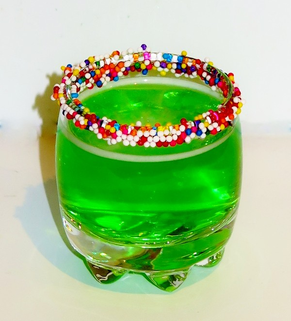 Neon ghost recipe for Cocktail pisang