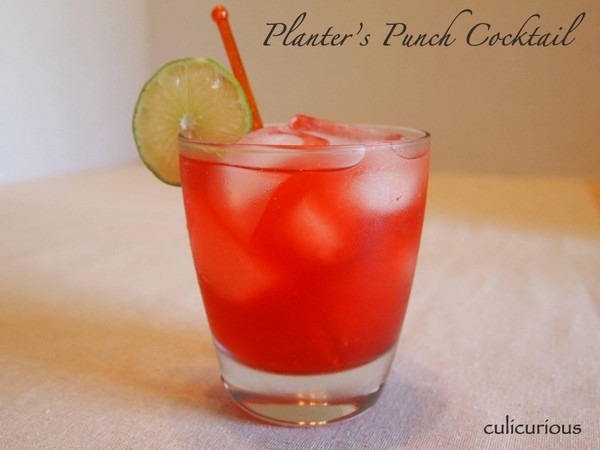 Barbados Planter's Punch Recipe on