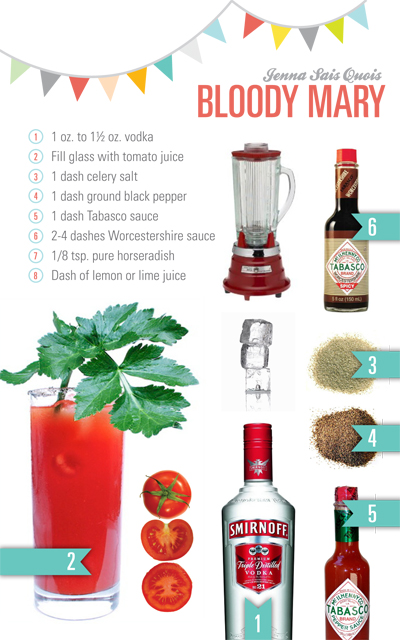Bloody Mary Cocktail Rezept